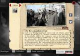 Screenshot mit einem Infotext über Kriegsgefangene
