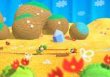 Screenshot: zwei Wollwesen in einer gestrickten Landschaft