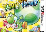 """Cover von """"Yoshi's New Island"""" mit einem Zeichentrick-Dinosaurier"""