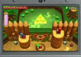 Screenshot: die drei Helden betätigen gleichzeitig die Schalter und öffnen ein Tor