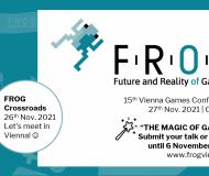 Ankündigung der Fachtagung FROG 2021