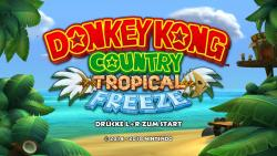 Startbildschirm des Spieles