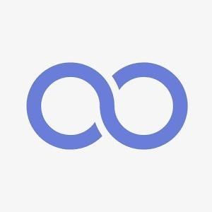 Cover: Eine blaues Unendlichzeichen (eine liegende Acht) auf weißem Hintergrund