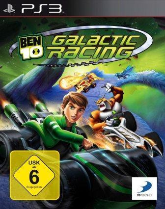 Das Coverbild zeigt Ben in seinem Rennwagen.