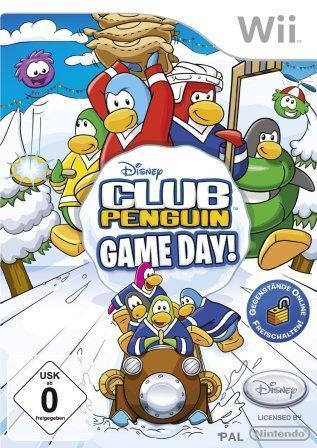 Das Coverbild zeigt Comic-Pinguine beim Wintersport.