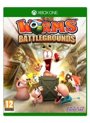 Cover: Vier Comic-Würmer rund um eine Kiste in einem Lagerhaus