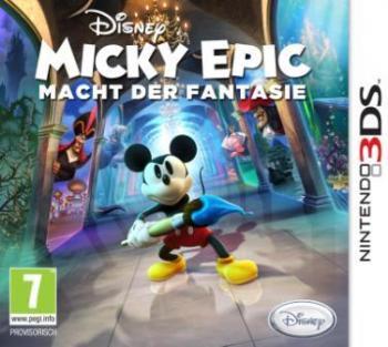 Das Coverbild zeigt Micky Mouse mit einem großen Pinsel in den Händen.
