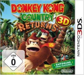 Das Coverbild zeigt Donkey Kong und seinen Freund Diddy Kong.