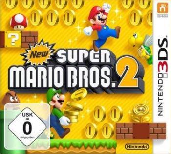 Das Coverbild zeigt die Hauptcharaktere Mario und Luigi beim Münzensammeln.