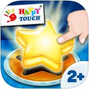 eine Hand berührt mit dem Finger einen Stern