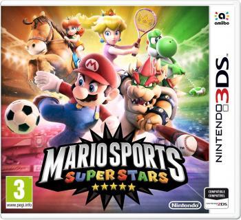 Cover: Mario und andere Nintendo-Charaktere mit unterschiedlichen Sportutensilien.