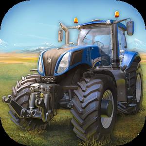 Cover: ein blauer Traktor