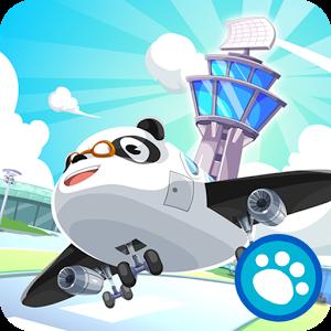 Cover: ein Flugzeug mit Panda-Gesicht