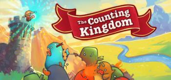 """Cover des Spieles mit kleinen bunten Monstern und dem Schriftzug """"The Counting Kingdom"""""""
