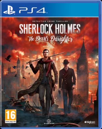 Cover: Sherlock Holmes und Dr. Watson gehen über eine zerstörte Strasse