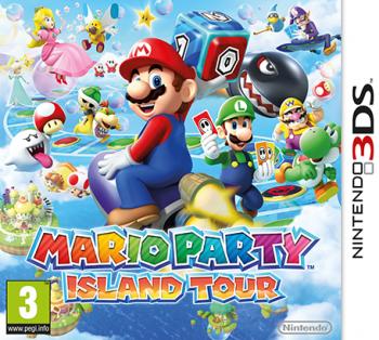 """Cover von """"Mario Party - Island Tour"""" mit Mario und seinen Freunden"""