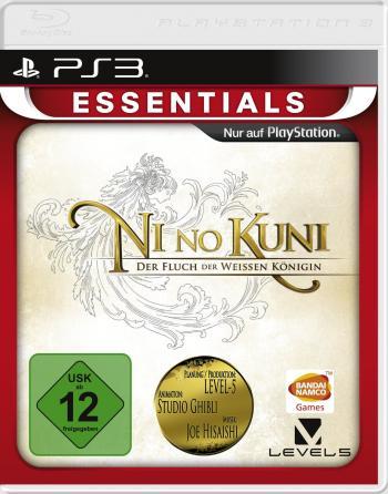 Cover des Spieles mit dem Schriftzug Ni No Kuni