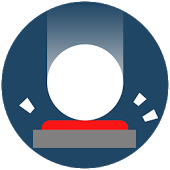 Cover: Eine weiße Kugel fällt auf einen roten Knopf.