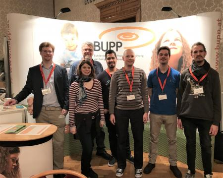 Das Team der BuPP bei den Spieltagen 2020