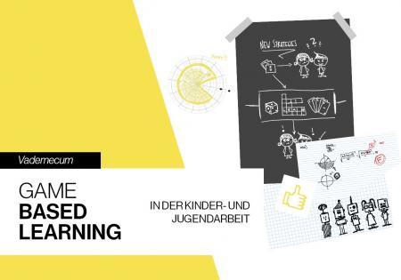 """Titelseite des Booklets """"Vademecum - Game Based Learning in der Kinder- und Jugendarbeit"""""""