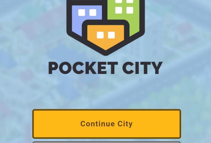 Startscreen des Spiels