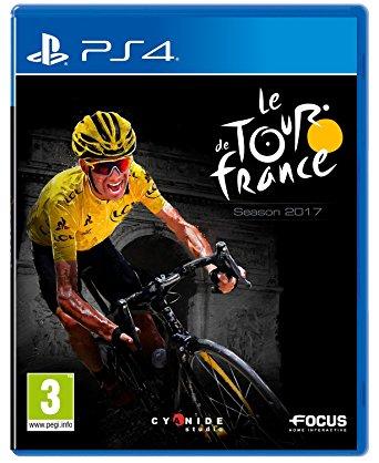 Radfahrer in gelbem Trikot