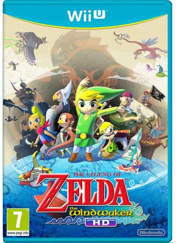 Cover - Link zusammen mit einigen Bewohnern der Spielwelt auf einer Weltkugel