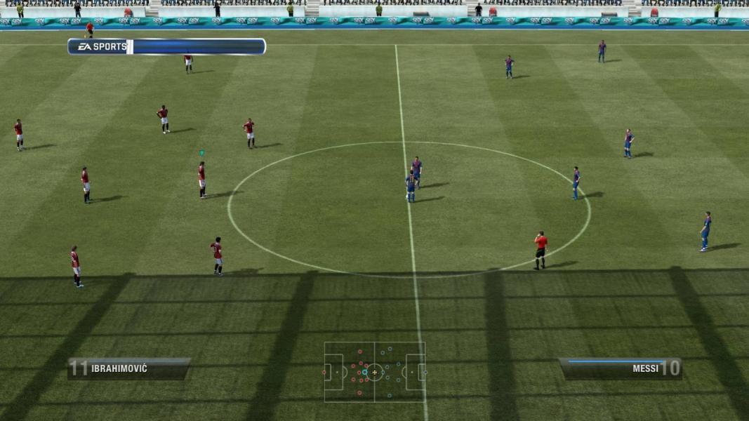 Screenshot: Paris St. Germain wartet auf den Ankick von Messi