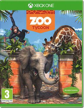 Cover von Zoo Tycoon mit Zootieren